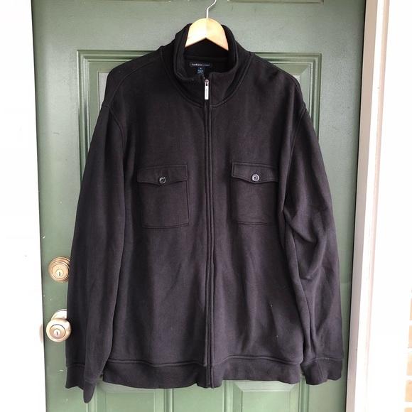 Van Heusen Other - VanHuesen Studio Double Pocket Sweatshirt Jacket